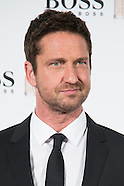 "Gerard Butler presentación Hugo Boss ""Man of Today"""