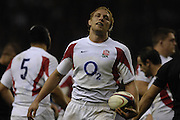 Twickenham. GREAT BRITAIN, Lewis MOODY, during  the 2006 Investec Challenge, game between, England  and New Zealand [All Blacks], on Sun., 05/11/2006, played at the Twickenham Stadium, England. Photo, Peter Spurrier/Intersport-images].....   [Mandatory Credit, Peter Spurier/ Intersport Images].