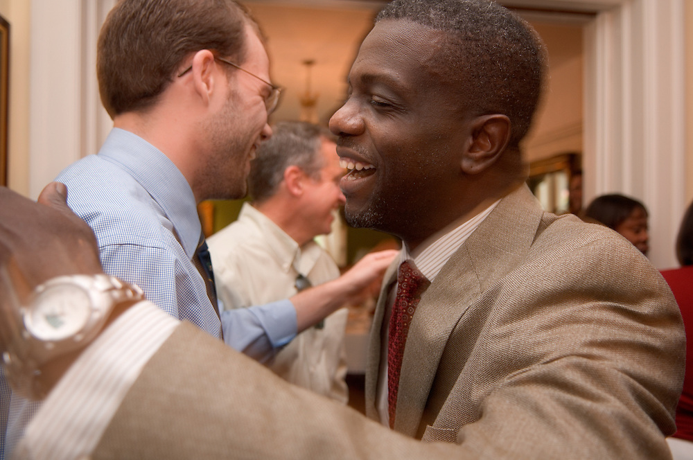 18325Ralph Amos Farewell reception....Jim Harris & Ralph Amos