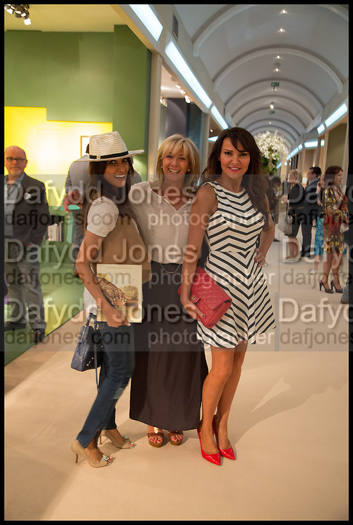 LIZZIE CUNDY, Masterpiece London 2014 Preview. The Royal Hospital, Chelsea. London. 25 June 2014.