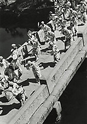 Asano Kiichi<br /> 1914 - 1993<br /> <br /> Awa-odori festival, Tokushima, 1950s<br /> <br /> Awa-odori festival dance at Tokushima Castle, 1950s. Vintage gelatin silver print that has on the reverse; Asano's blue studio and red hanko stamps, as well as a caption inscription in the artist's hand. Vintage gelatin silver print.<br /> <br /> Size 4 3/4 in. x 6 1/2 in. (120 mm x 165 mm). <br /> <br /> Condition very good<br /> <br /> Price ¥100,000<br /> <br /> <br /> <br /> <br /> <br /> <br /> <br /> <br /> <br /> <br /> <br /> <br /> <br /> <br /> <br /> <br /> <br /> <br /> <br /> <br /> <br /> <br /> <br /> <br /> <br /> .