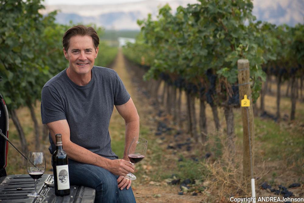 Kyle MacLachlan, Pursued by Bear wine, Washington