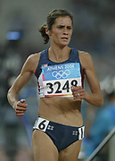 Shayne Culpepper of the United States placed 11th in women's 5,000-meter heat in 15:40.02 in the 2004 Olympics in Athens, Greece on Friday, August 20, 2004. She is the wife of Alan Culpepper.