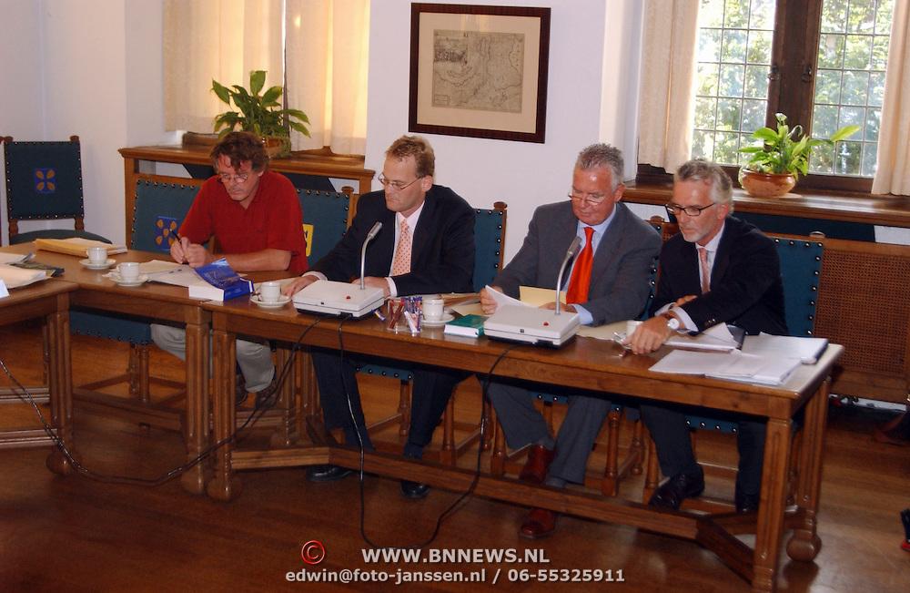 Hoorzitting gemeente Naarden, minister Heinsbroek - dhr. Möller