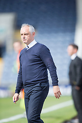 Raith Rovers manager Ray McKinnon.<br /> Raith Rovers 3 v 0 Livingston, SPFL Ladbrokes Premiership game played 8/8/2015 at Stark's Park.