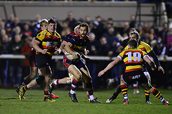 Luke Morahan of Bristol Rugby breaks forward  - Mandatory by-line: Dougie Allward/JMP - 30/12/2017 - RUGBY - The Athletic Ground - Richmond, England - Richmond v Bristol Rugby - Greene King IPA Championship