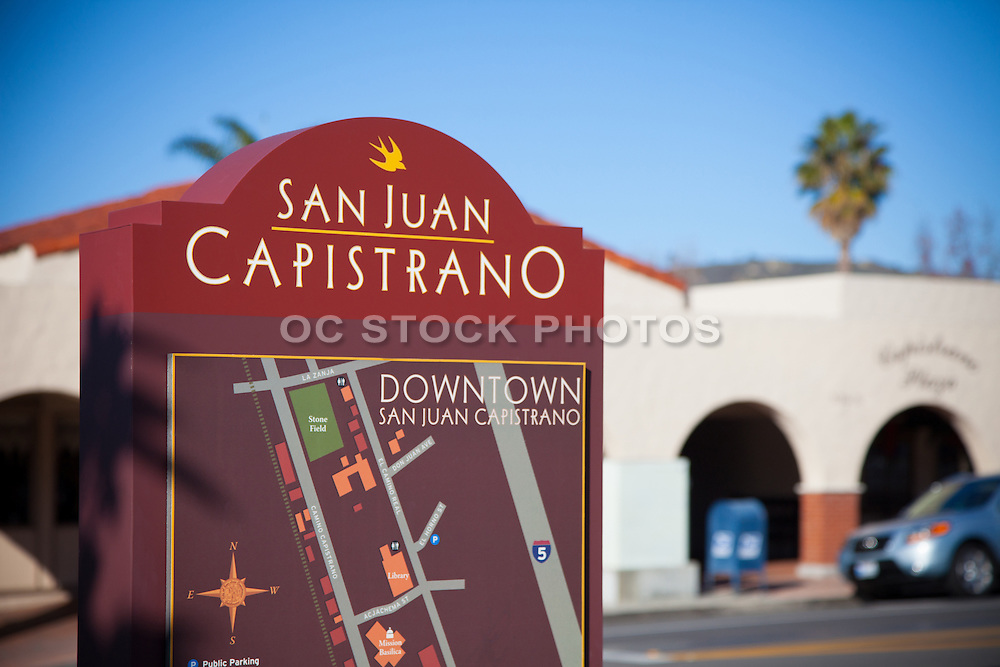 Downtown San Juan Capistrano Sign