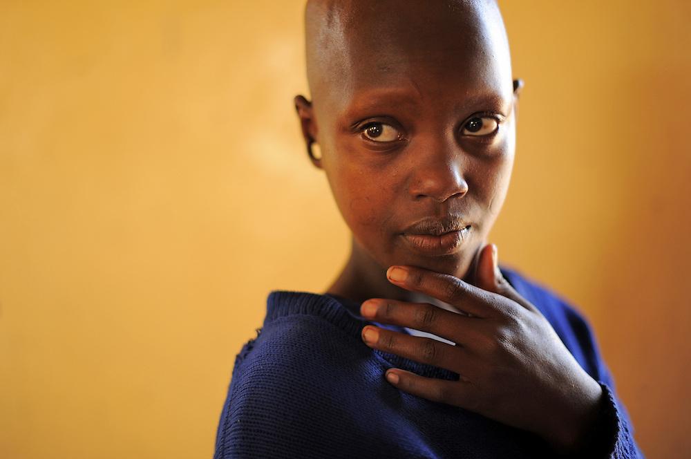 ESILALEI, TANZANIA -  13-10-08   -  Adadda Sabore, 13. Photos of primary school at Esilalei for Wewe na Maasai. Photo by Daniel Hayduk