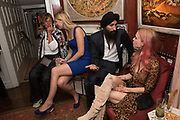 SARAH ST. GEORGE; LADY GABRIELA WINDSOR; WARIS; MARY CHARTERIS , Robin Birley and Lady Annabel Goldsmith Summer Party. Hertford St. London. 5 July 2017