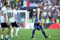 v.l. Thomas Mueller, Toni Kroos, Torwart Manuel Neuer (Deutschland)<br /> Moskau, 17.06.2018, FIFA Fussball WM 2018 in Russland, Vorrunde, Deutschland - Mexiko 0:1<br /> Tysland - Mexico<br /> Norway only
