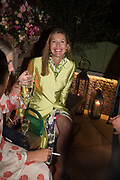 SOPHIE CONRAN, spotted at Bloom & Wild's exclusive event at 5 Hertford Street last night. 5 September 2017. The event was announcing the new partnership between the UK's most loved florist, Bloom & Wild and British floral design icon Nikki Tibbles Wild at Heart. Cocooned in swaths of vibrant Autumn blooms, guests enjoyed floral-inspired cocktails from Sipsmith and bubbles from Chandon, with canapés put on by 5 Hertford Street. Three limited edition bouquets from the partnership can be bought through Bloom & Wild's website from the 1st September.  bloomandwild.com/WAH