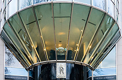Rolls-Royce Studio Berlin on famous Kurfurstendamm shopping street in Berlin, Germany.