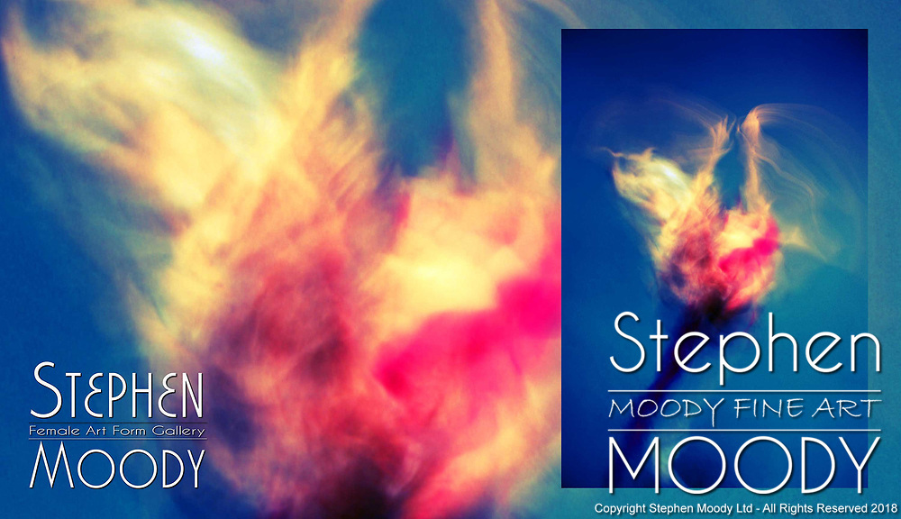Creation - Abstract Art of the Female Form created by artist Stephen Moody of Scottsdale, AZ.  Large wall art for businesses, hospitality industry, interior designers and individual collectors.