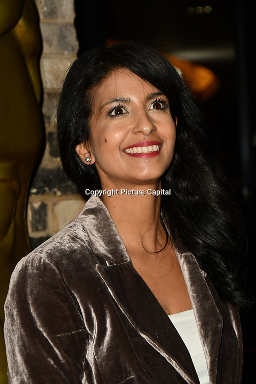Konnie Huq arrivers at the BAFTA Children's Awards 2018 at Roundhouse on 25 November 2018, London, UK.