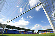 The New Meadow Stadium, home of Shrewsbury Town