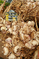 The Saturday market in UzËs, Languedoc, France..local garlic..October 6, 2007..Photo by Owen Franken for the NY Times...Assignment ID: 30049869A