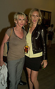 TRUDY STYLER; MICKEY SUMNER, Mario Testino: Obsessed by You -  private view<br />Phillips de Pury & Company, Howick Place, London, SW1, 2 July 2008 *** Local Caption *** -DO NOT ARCHIVE-© Copyright Photograph by Dafydd Jones. 248 Clapham Rd. London SW9 0PZ. Tel 0207 820 0771. www.dafjones.com.