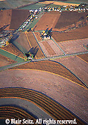 Southcentral Pennsylvania, Aerial Photographs Farmlands, Mixed Cultivation and Contour Farming, Fall Season, Cumberland County, PA