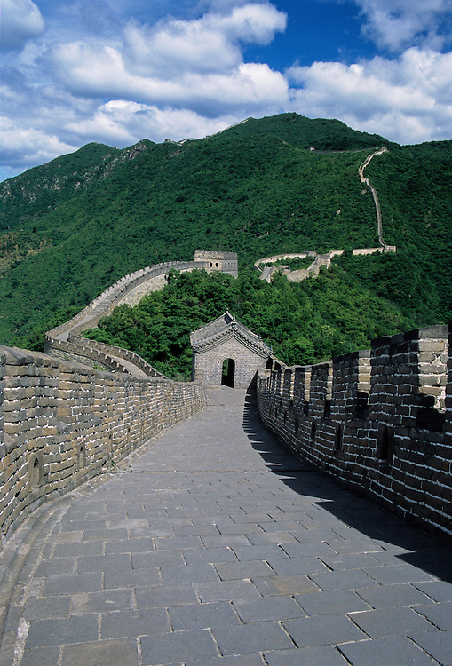 This section of The Great Wall of China has been incredibly well maintained and is also less crowded with tourists than the Badaling section which is closer to Beijing.