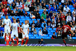 Secuk Inan of Turkey takes a free kick - Mandatory byline: Matt McNulty/JMP - 07966386802 - 22/05/2016 - FOOTBALL - Etihad Stadium -Manchester,England - England v Turkey - International Friendly