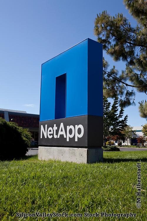 NetApp Sign, Sunnyvale, CA