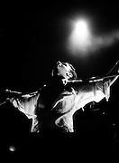 Depeche Mode performing live at Pasadena Rose Bowl, June 1988.