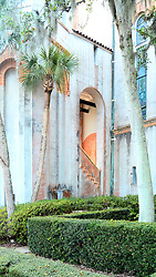Courtyard Detail, Flagler Memorial Presbyterian Church