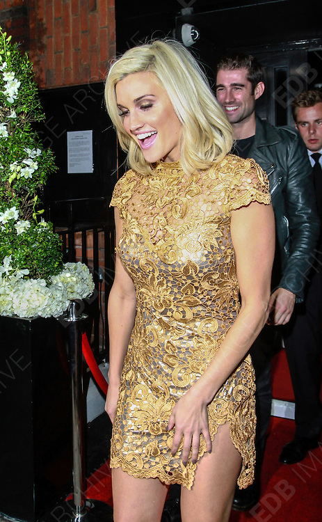 25.SEPTEMBER.2013. LONDON<br /> <br /> CELEBRITIES ATTEND THE KEY FASHION EVENT AT THE VANILLA CLUB, LONDON<br /> <br /> BYLINE: EDBIMAGEARCHIVE.CO.UK<br /> <br /> *THIS IMAGE IS STRICTLY FOR UK NEWSPAPERS AND MAGAZINES ONLY*<br /> *FOR WORLD WIDE SALES AND WEB USE PLEASE CONTACT EDBIMAGEARCHIVE - 0208 954 5968*