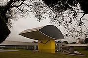 Curitiba_PR, Brasil...MON (Museu Oscar Niemeyer) em Curitiba, Parana...The Oscar Niemeyer Museum (Portuguese: Museu Oscar Niemeyer) is located in the city of Curitiba, in the state of Parana, in Brazil...Foto: LUIZ FELIPE FERNANDES / NITRO