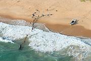 Sri Lanka. East Coast, hauling in a Great Net or 'Ma Dal'