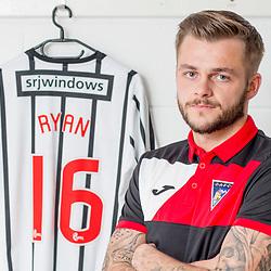 Dunfermline Athletic Andy Ryan signing 15 August 2017<br />