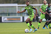 Forest Green Rovers Ebou Adams(14) during the EFL Sky Bet League 2 match between Forest Green Rovers and Plymouth Argyle at the New Lawn, Forest Green, United Kingdom on 16 November 2019.