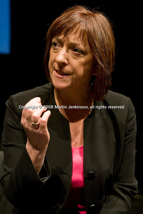 Kate Rutter. celebrating Linda Smith, Crucible Studio Sheffield 03/04/08...© Martin Jenkinson, tel 0114 258 6808 mobile 07831 189363 email martin@pressphotos.co.uk. Copyright Designs & Patents Act 1988, moral rights asserted credit required. No part of this photo to be stored, reproduced, manipulated or transmitted to third parties by any means without prior written permission.