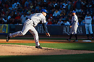 April 16, 2009:   #34 Tomo Ohka of the Columbus Clippers in action during the MiLB game between Columbus Clippers and Detroit Toledo Mudhens at Fifth Third Field in Toledo, Ohio. Columbus defeated the Mudhens 2-1. (Credit Image: © Rick Osentoski/Cal Sport Media)