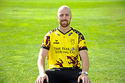 Nat West T20 Blast kit portrait of Jack Leach during the Somerset County Cricket Club PhotoCall 2017 at the Cooper Associates County Ground, Taunton, United Kingdom on 5 April 2017. Photo by Graham Hunt.
