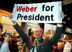 06.03.2019, Dreiländerhalle, Passau, GER, Politischer Aschermittwoch der CSU, im Bild Manfred Weber Fan // during the Political Ash Wednesday of the CSU Party at the Dreiländerhalle in Passau, Germany on 2019/03/06. EXPA Pictures © 2019, PhotoCredit: EXPA/ SM<br /> <br /> *****ATTENTION - OUT of GER*****