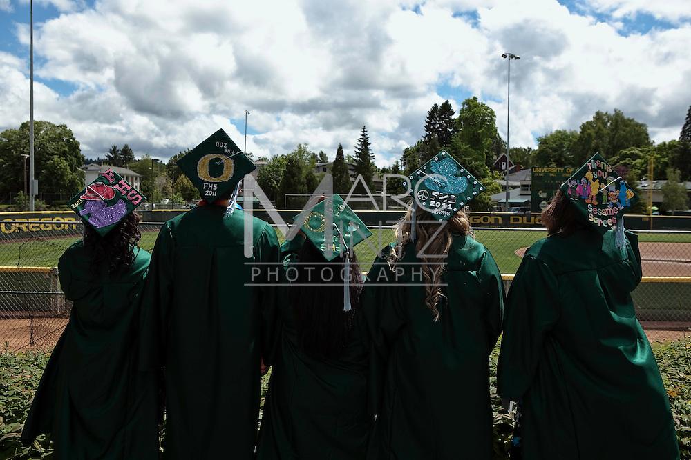 Pedro Graduates, Eugene, Oregon.