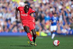 Mamadou Sakho of Liverpool   - Mandatory byline: Matt McNulty/JMP - 07966 386802 - 04/10/2015 - FOOTBALL - Goodison Park - Liverpool, England - Everton  v Liverpool - Barclays Premier League