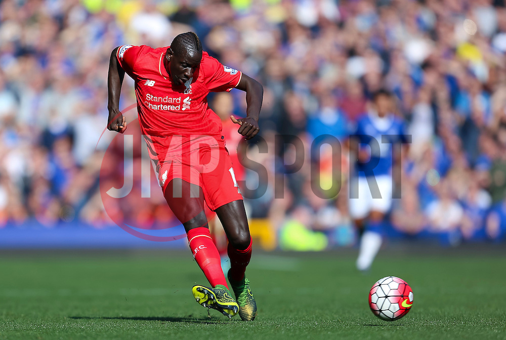 Mamadou Sakho of Liverpool   - Mandatory byline: Matt McNulty/JMP - 07966 386802 - 04/10/2015 - FOOTBALL - Goodison Park - Liverpool, England - Everton  v Liverpool - Barclays Premier League