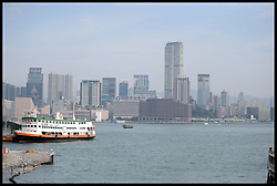 Stock photos of the water front in Hong Kong, China Stock, China.October 2013. Picture by Andrew Parsons / i-Images