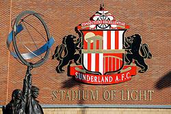 General View of the Sunderland crest outside the stadium - Photo mandatory by-line: Rogan Thomson/JMP - 07966 386802 - 04/01/2015 - SPORT - FOOTBALL - Sunderland, England - Stadium of Light - Sunderland v Leeds United - FA Cup Third Round Proper.
