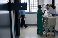 Roma, 03/07/2013: Reparto detenuti dell'ospedale Pertini, dove è deceduto Stefano Cucchi