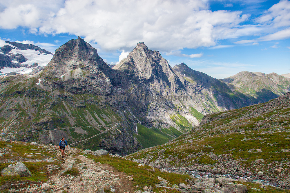 Hiking at Trollstigen