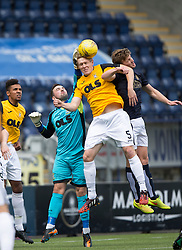 East Fife's Ryan Goodfellow and East Fife's Jonathan Page. Falkirk 3 v 1 East Fife, Petrofac Training Cup played 25th July 2015 at The Falkirk Stadium.