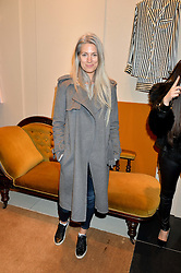 SARAH HARRIS at a party to celebrate the launch of Olivia von Halle, 151 Sloane Street, London on 25thNovember 2015