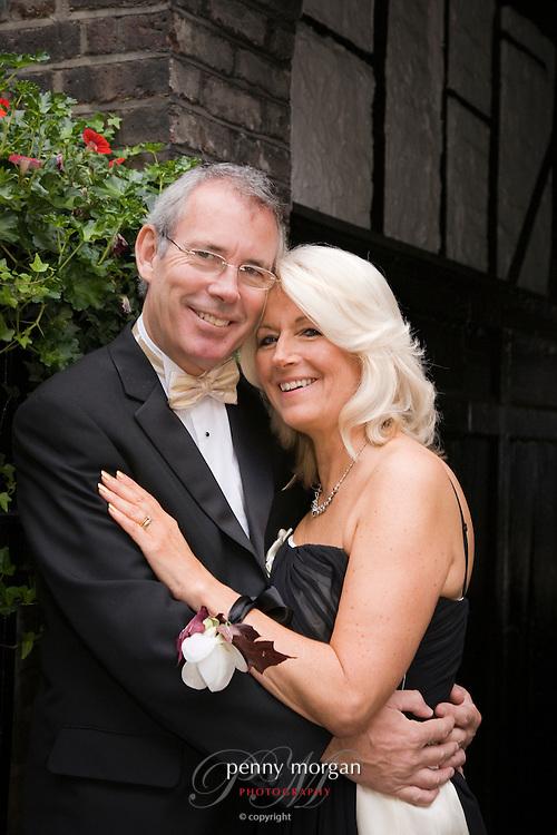 Ian and Celia's wedding day