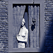 Window in Siena, Italy