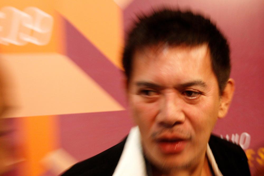 Sao Paulo_SP, Brasil...Mostra de cinema Indie Festival 2009 em Sao Paulo. Na foto o diretor filipino de cinema, Brillante Mendoza...Indie Festival 2009 in Sao Paulo. In the photo the Filipino film director, Brillante Mendoza...Foto: MARCUS DESIMONI / NITRO
