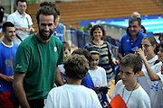 TRENTO 09-08-2013  BASKET TRENTINO CUP - ALLENAMENTO<br /> NELLA FOTO: LUIGI DATOME<br /> FOTO : CIAMILLO