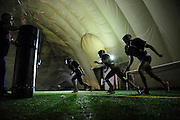 Chicago Bliss players practice for their season opener against Atlanta Steam on April 11th. Chicago Bliss returns to Bridgeview to play at Toyota Park after playing several years at Sears Centre in Hoffman Estates. At Bridgeview Sports Dome, Wednesday, April 8th, 2015, in Bridgeview. (Gary Middendorf/ For the Daily Southtown)